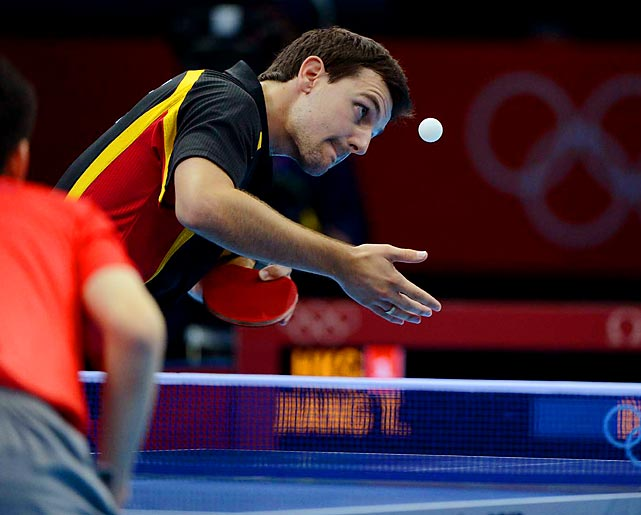 Germany defeated Hong Kong for the bronze medal in the team table tennis competition.